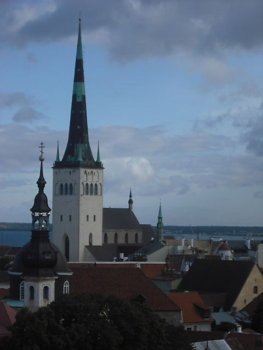 St Olaf's Church, Tallin, Estonia copyright Rom Rudzki